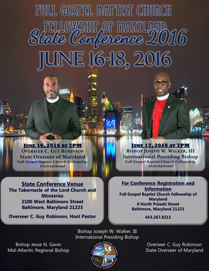 state of maryland conference flyer